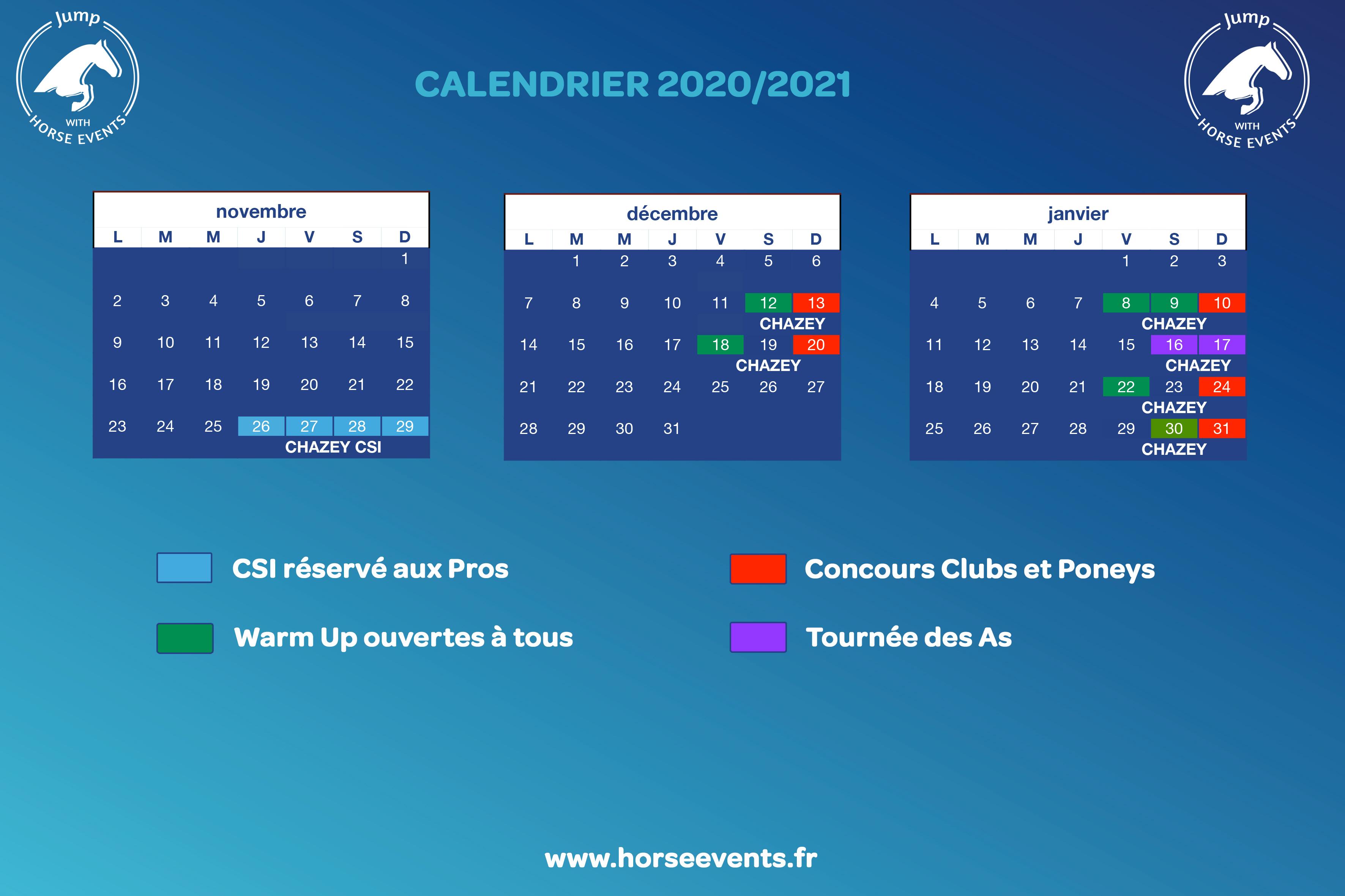Programme   Horse Events
